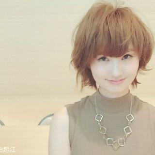 外国人風カラー ボブ 女子力 デート ヘアスタイルや髪型の写真・画像