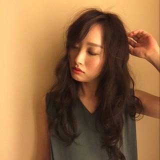 抜け感 大人かわいい コンサバ ロング ヘアスタイルや髪型の写真・画像