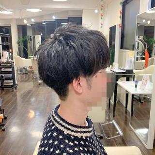 ショート メンズマッシュ メンズヘア メンズカット ヘアスタイルや髪型の写真・画像