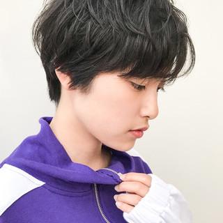 大人かわいい コンサバ 黒髪 アウトドア ヘアスタイルや髪型の写真・画像