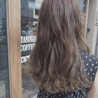 グラデーションカラー イルミナカラー ストリート ハイライト ヘアスタイルや髪型の写真・画像