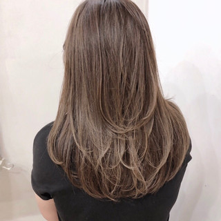 外国人風カラー ナチュラル グラデーションカラー ロング ヘアスタイルや髪型の写真・画像