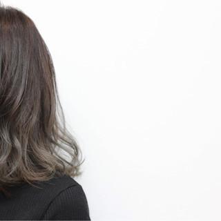 色気 ストリート 暗髪 ボブ ヘアスタイルや髪型の写真・画像