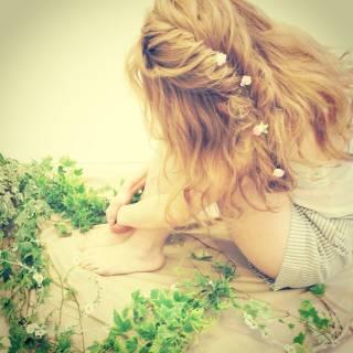 ストレート くせ毛風 三つ編み ナチュラル ヘアスタイルや髪型の写真・画像