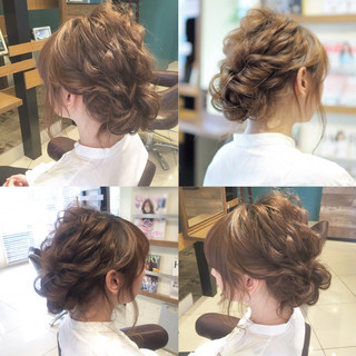 結婚式 シニヨン ゆるふわ ロング ヘアスタイルや髪型の写真・画像 ヘアスタイルや髪型の写真・画像