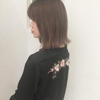 色気 ボブ 前髪あり 外国人風 ヘアスタイルや髪型の写真・画像 ヘアスタイルや髪型の写真・画像