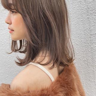 デート 大人かわいい ヘアアレンジ ミディアム ヘアスタイルや髪型の写真・画像