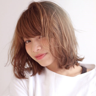 ナチュラル モテ髪 ラフ 抜け感 ヘアスタイルや髪型の写真・画像
