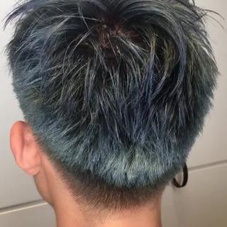 ボーイッシュ 透明感 ストリート メンズ ヘアスタイルや髪型の写真・画像