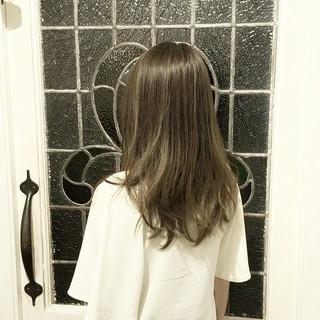 ナチュラル 外国人風 ハイライト 冬 ヘアスタイルや髪型の写真・画像