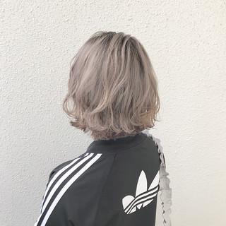 ブリーチ ハイトーン ダブルカラー モード ヘアスタイルや髪型の写真・画像 ヘアスタイルや髪型の写真・画像