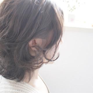 色気 こなれ感 ナチュラル パーマ ヘアスタイルや髪型の写真・画像