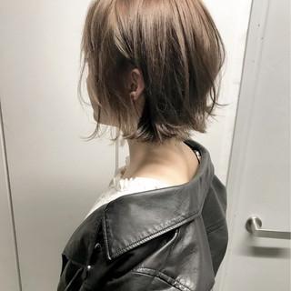 外国人風 女子力 切りっぱなし ストリート ヘアスタイルや髪型の写真・画像