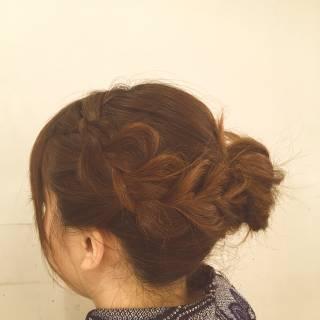 ヘアアレンジ 愛され モテ髪 着物 ヘアスタイルや髪型の写真・画像