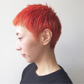 モード 春 個性的 大人女子 ヘアスタイルや髪型の写真・画像
