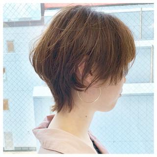 大人ショート デート 大人かわいい フェミニン ヘアスタイルや髪型の写真・画像