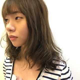女子会 ナチュラル ロング リラックス ヘアスタイルや髪型の写真・画像