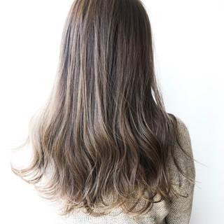大人かわいい フェミニン 透明感カラー 大人ハイライト ヘアスタイルや髪型の写真・画像
