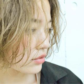 ハイトーン ボブ ハイトーンカラー パーマ ヘアスタイルや髪型の写真・画像 ヘアスタイルや髪型の写真・画像