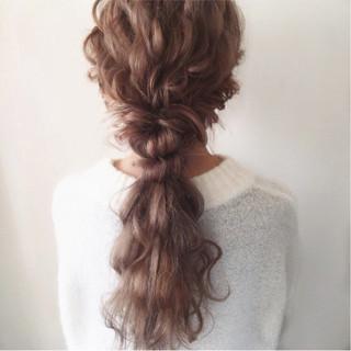 大人女子 抜け感 ガーリー 大人かわいい ヘアスタイルや髪型の写真・画像