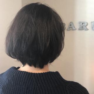 ショート 大人女子 ショートボブ ナチュラル ヘアスタイルや髪型の写真・画像