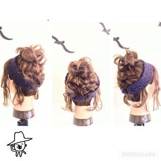 ヘアアクセ ねじり 編み込み お団子 ヘアスタイルや髪型の写真・画像 ヘアスタイルや髪型の写真・画像