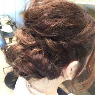 ロング 外国人風 グラデーションカラー 簡単ヘアアレンジ ヘアスタイルや髪型の写真・画像