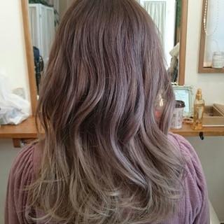 渋谷系 アッシュ フェミニン ガーリー ヘアスタイルや髪型の写真・画像