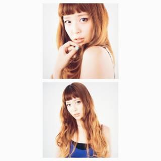 コンサバ ゆるふわ ロング フェミニン ヘアスタイルや髪型の写真・画像