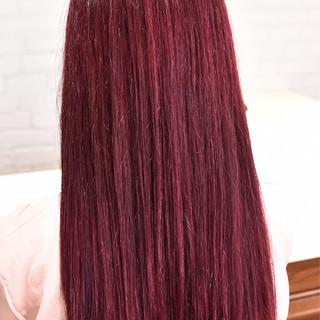 ロング 外国人風カラー ハイトーン ダブルカラー ヘアスタイルや髪型の写真・画像
