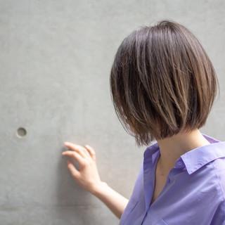 外国人風 フェミニン 女子力 ボブ ヘアスタイルや髪型の写真・画像 ヘアスタイルや髪型の写真・画像
