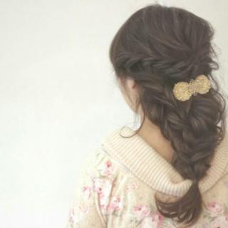 ナチュラル ヘアアレンジ ショート ハイライト ヘアスタイルや髪型の写真・画像