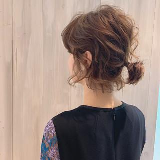 結婚式ヘアアレンジ ボブ 大人女子 モード ヘアスタイルや髪型の写真・画像