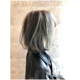 外ハネ 大人女子 ボブ こなれ感 ヘアスタイルや髪型の写真・画像