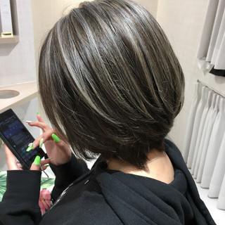 ブリーチ 外国人風カラー アッシュ 美髪 ヘアスタイルや髪型の写真・画像 ヘアスタイルや髪型の写真・画像