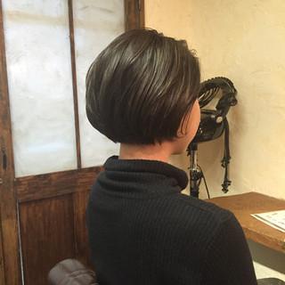 ショートボブ ストリート 外国人風カラー ショート ヘアスタイルや髪型の写真・画像