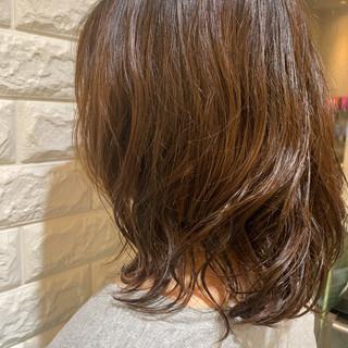 カール デジタルパーマ フェミニン パーマ ヘアスタイルや髪型の写真・画像 ヘアスタイルや髪型の写真・画像