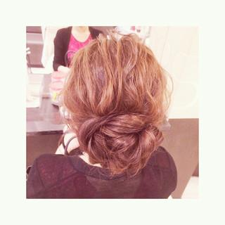 ヘアアレンジ ロング 結婚式 アップスタイル ヘアスタイルや髪型の写真・画像