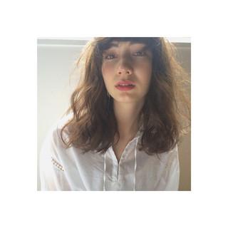 外国人風 ストリート 暗髪 パーマ ヘアスタイルや髪型の写真・画像