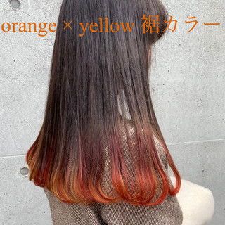 外国人風 ロング 外国人風カラー ブリーチ ヘアスタイルや髪型の写真・画像