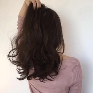 大人女子 ニュアンス ロング 前髪あり ヘアスタイルや髪型の写真・画像