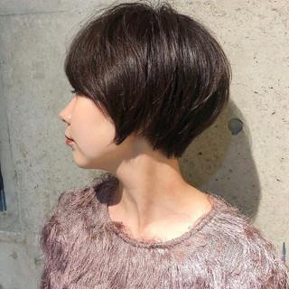ショートマッシュ マッシュ ショートカット ショート ヘアスタイルや髪型の写真・画像