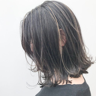 イルミナカラー オフィス デート 大人かわいい ヘアスタイルや髪型の写真・画像