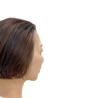 外国人風 透明感 ナチュラル ハイライト ヘアスタイルや髪型の写真・画像