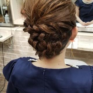 パーティ デート 上品 エレガント ヘアスタイルや髪型の写真・画像