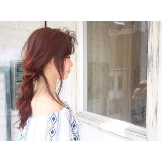 女子会 リラックス 大人かわいい 上品 ヘアスタイルや髪型の写真・画像 ヘアスタイルや髪型の写真・画像