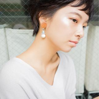 黒髪 ナチュラル パーマ 外国人風 ヘアスタイルや髪型の写真・画像