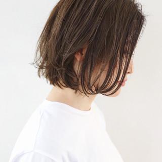 フェミニン ミニボブ デート 抜け感 ヘアスタイルや髪型の写真・画像