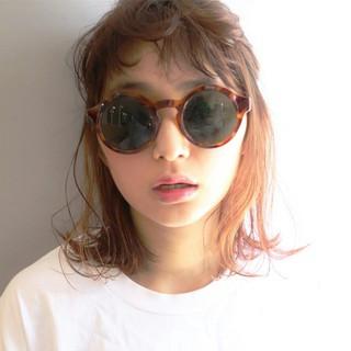 ショート ミディアム 外国人風 簡単ヘアアレンジ ヘアスタイルや髪型の写真・画像