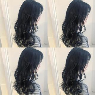 ロング オルチャン 透明感 渋谷系 ヘアスタイルや髪型の写真・画像